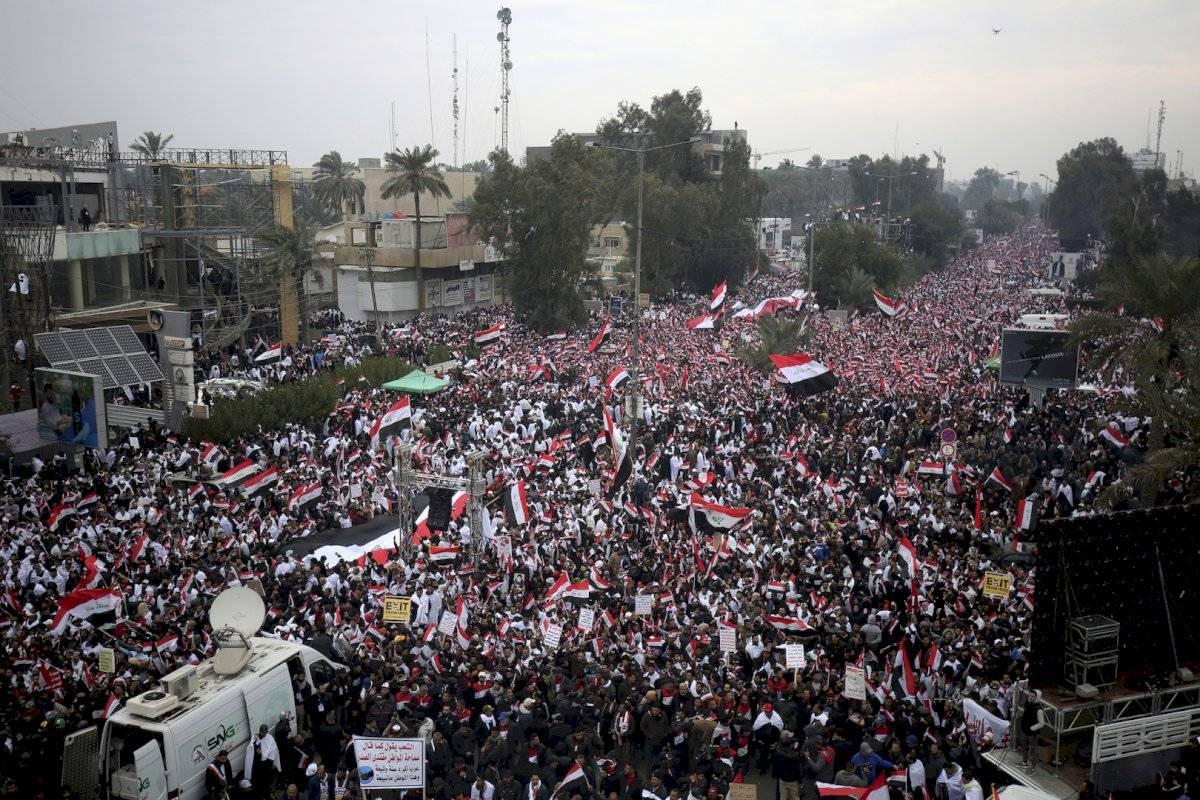 Marchas en Bagdad