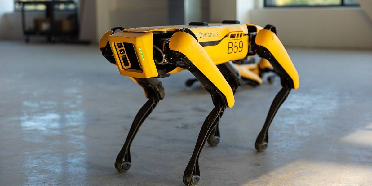 Coronavirus: en Singapur un robot te recuerda mantener el distanciamiento por el COVID-19