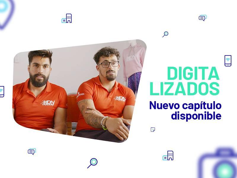 Entel nos invita a ver 'Digitalizados', el primer docu-reality sobre transformación digital en negocios