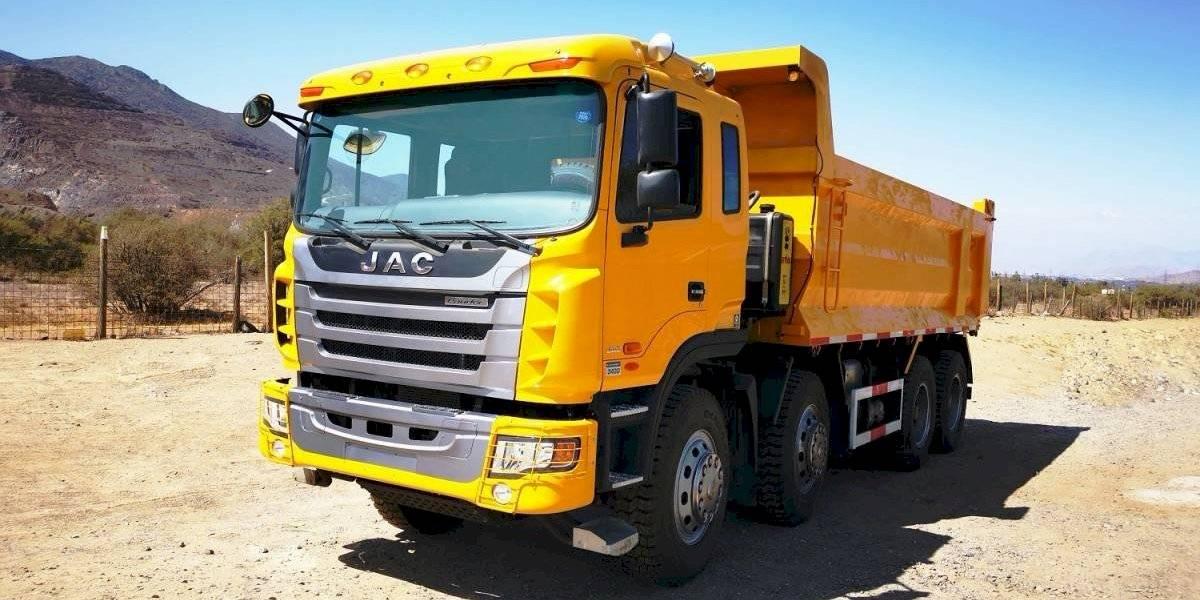 JAC Motors presenta su nuevo camión Lander 3430