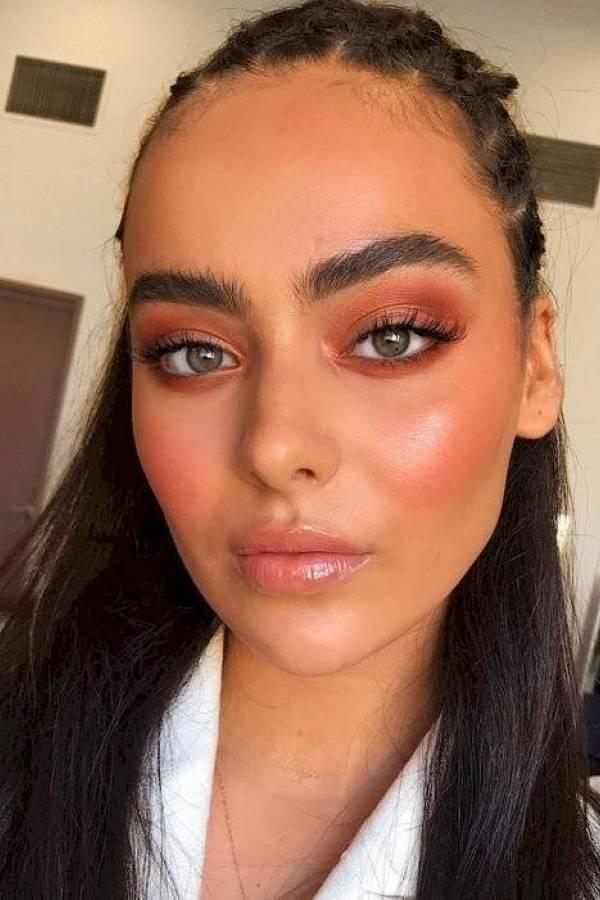 Maquiagem de dia - Pinterest