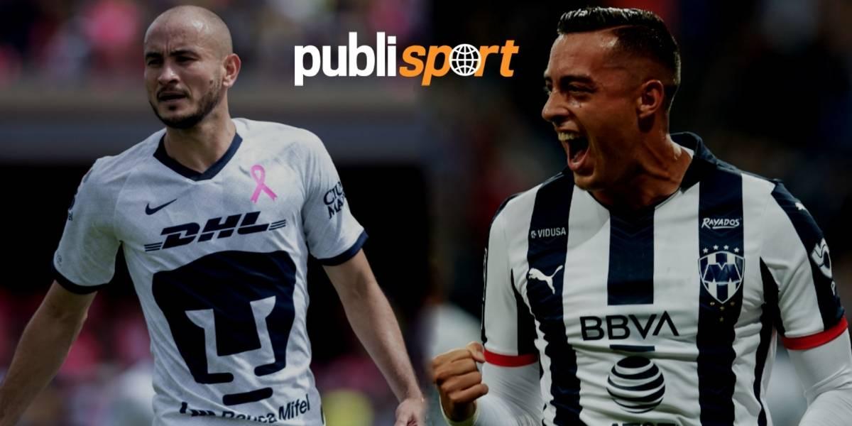 Pumas vs. Monterrey, ¿dónde y a qué hora ver el partido?