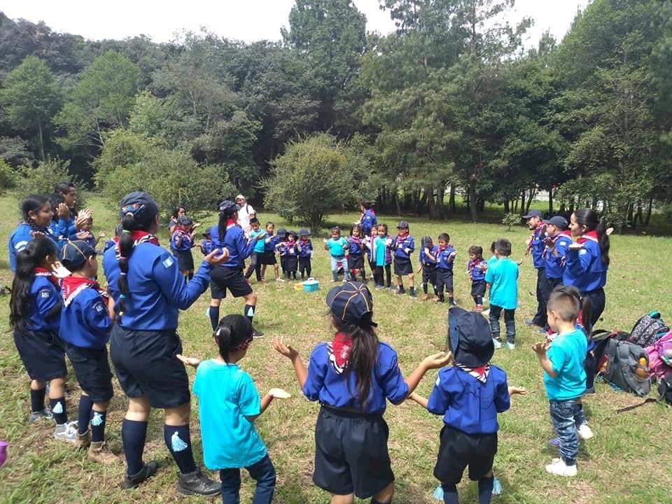 Campamento de los scouts. Foto: Asociación de Scouts de Guatemala