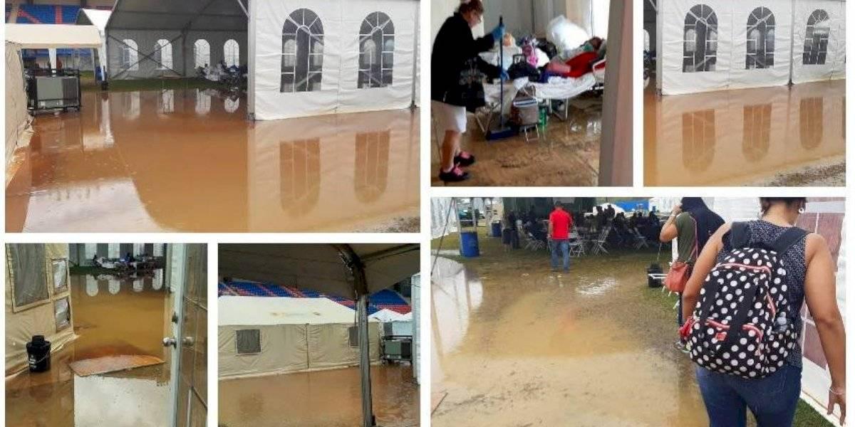 Gases lacrimógenos en San Juan y refugios inundados en Yauco