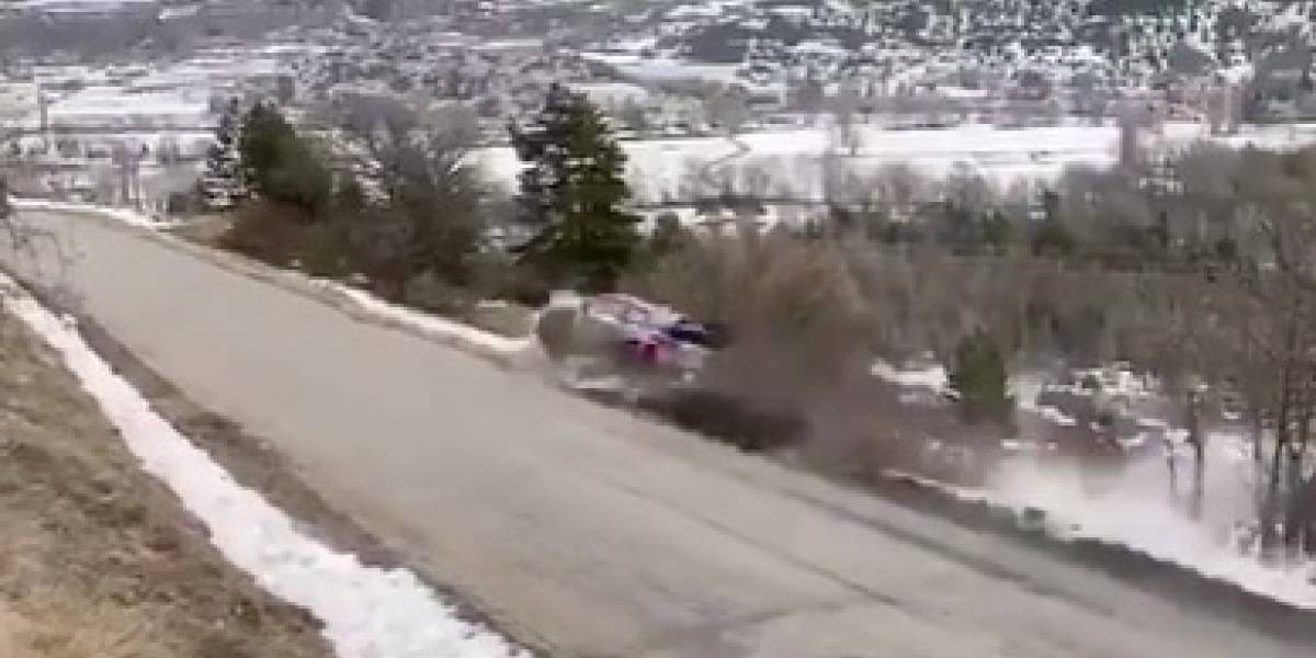VIDEO: Campeón del mundo sufre escalofriante accidente en mundial de rally