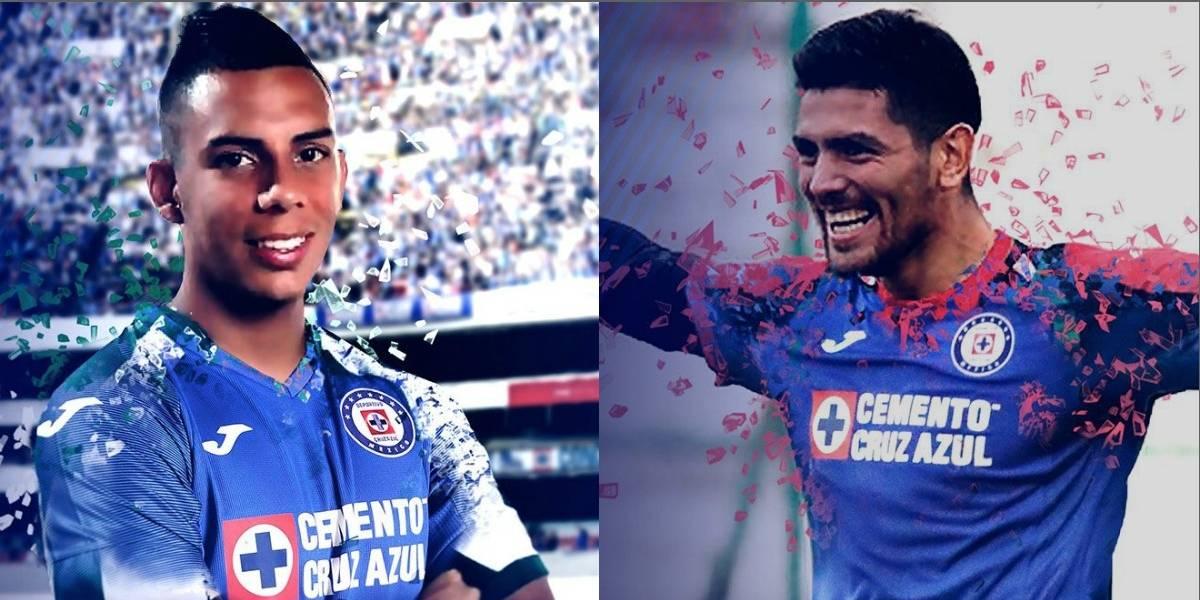 Cruz Azul confirma a Passerini y Castro como nuevos refuerzos