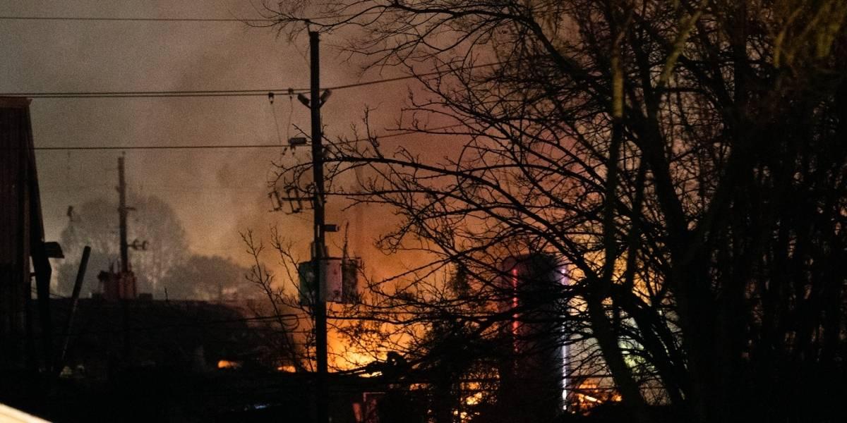Explosión en Houston causa dos muertos