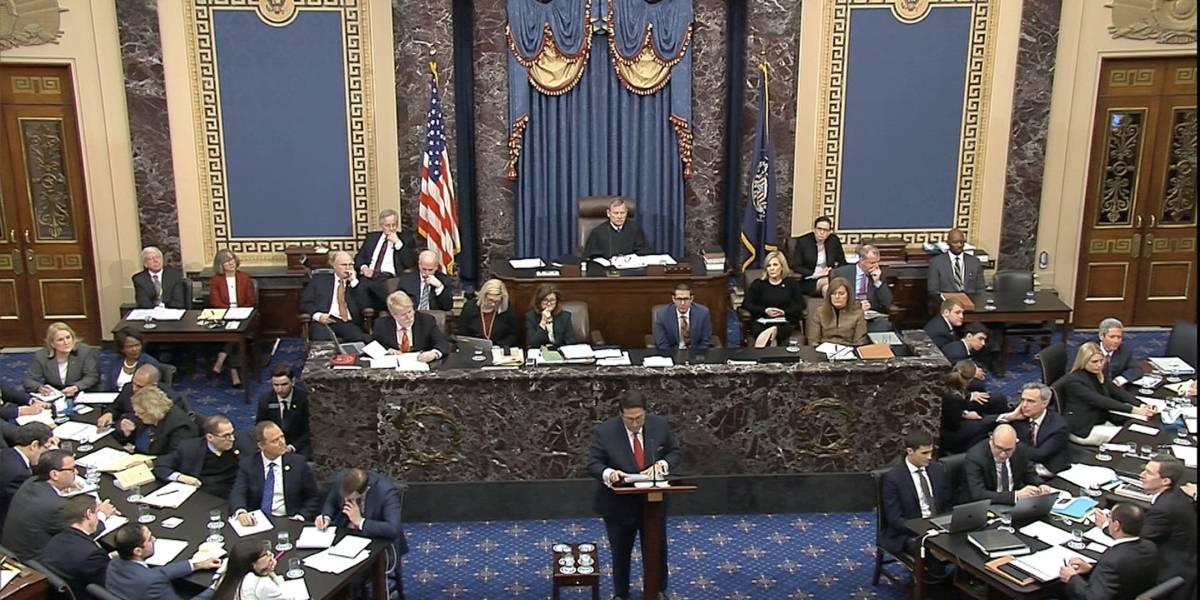 Impeachment a Trump: Defensa asegura que 'no hizo nada malo'