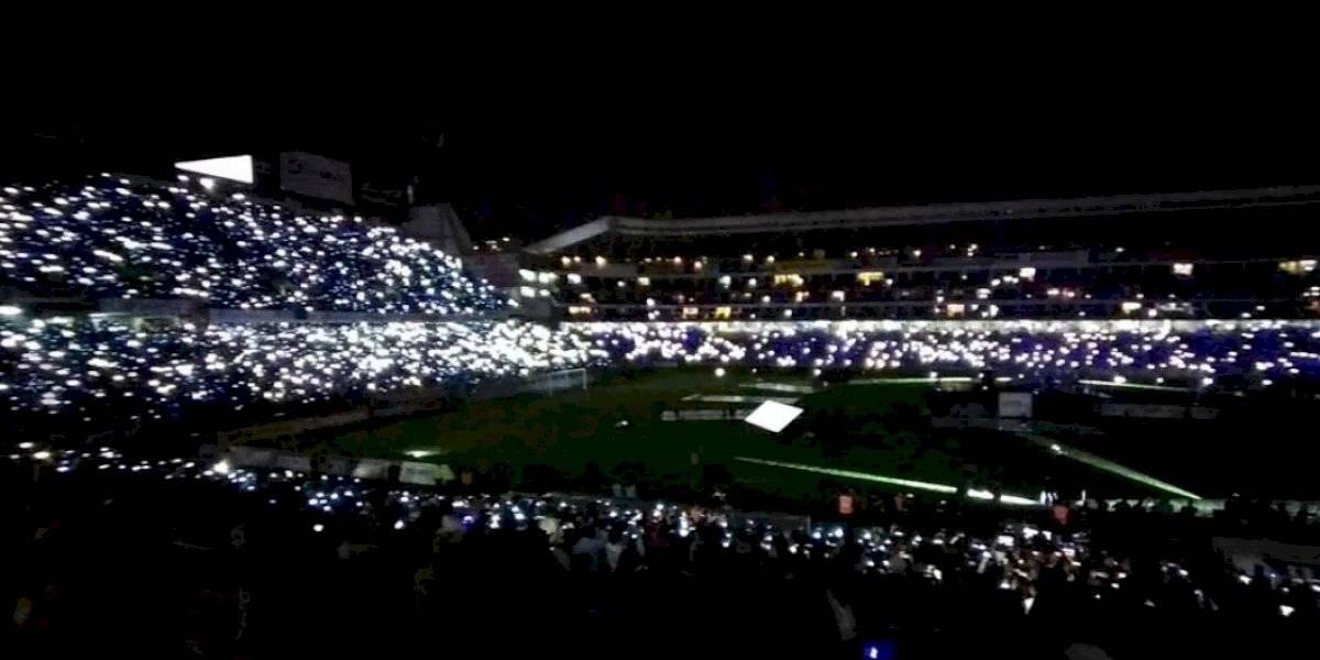 Noche Blanca: luces led, cánticos y fuegos artificiales en la presentación de LDU