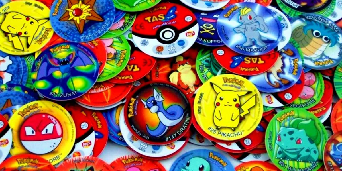 Los tazos de Pokémon regresan a Latinoamérica