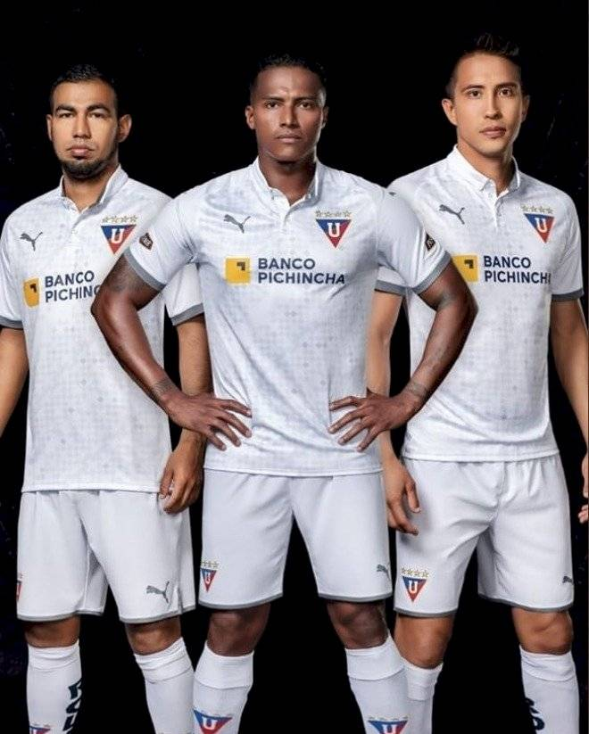 Uniforme de Liga de Quito