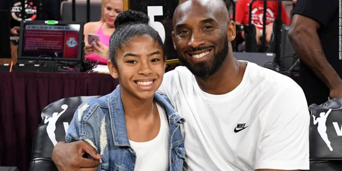 Reportan que hija de Kobe Bryant, Gianna Bryant, de 13 años, también falleció en el accidente aéreo