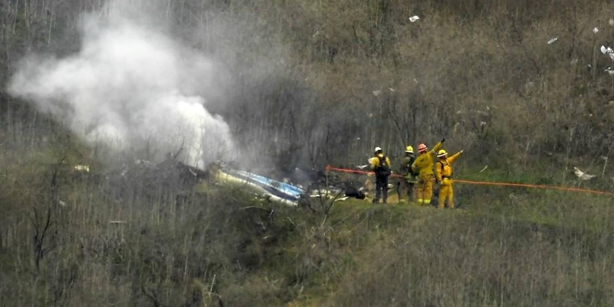 FOTOS: Las primeras imágenes del trágico accidente de Kobe Bryant