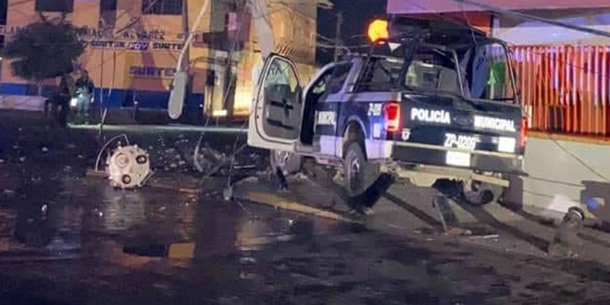Atacan a balazos a elementos de la policía de Zapopan