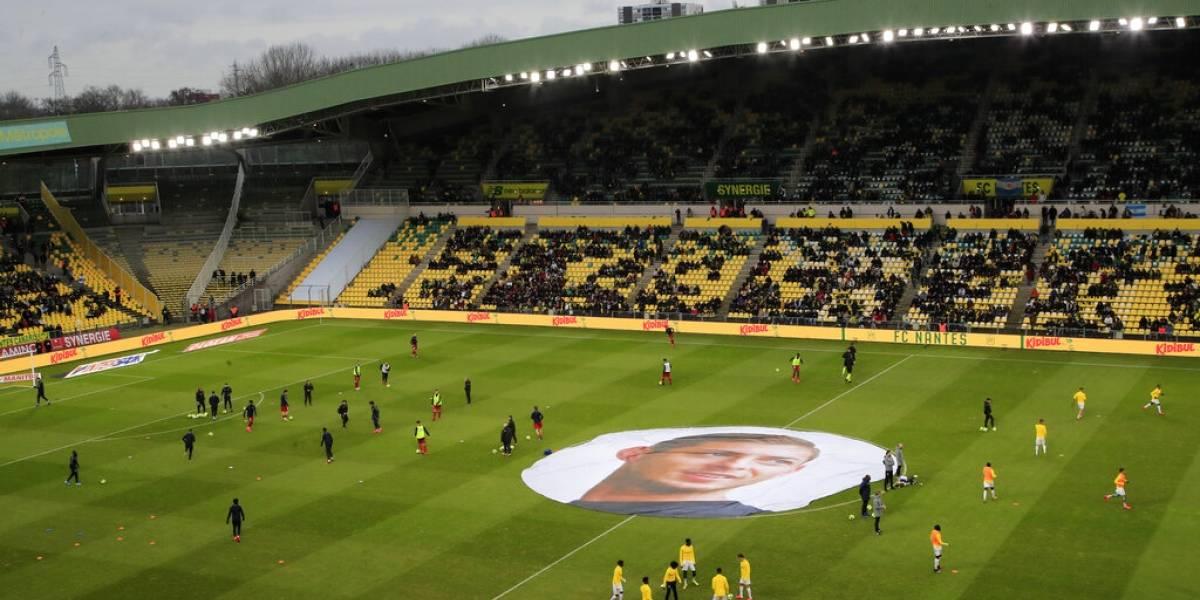 Nantes homenajea a Emiliano Sala en primer aniversario de su muerte