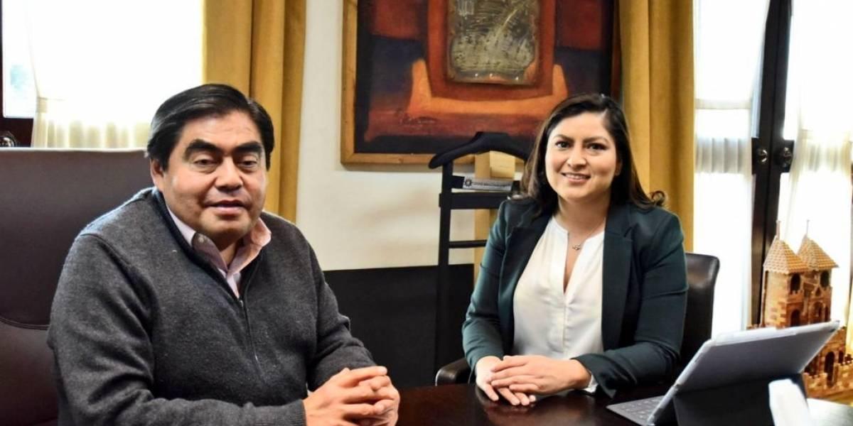 El gobernador Miguel Barbosa se reúne con la alcaldesa Claudia Rivera para abordar temas de seguridad