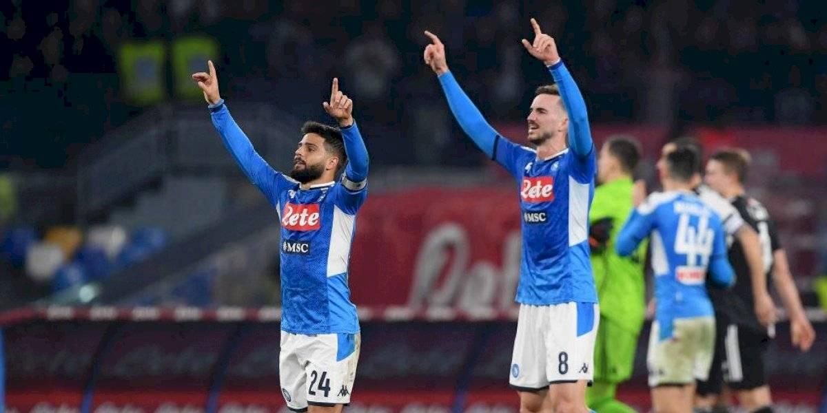 Napoli, sin Lozano, sorprende y vence a la Juventus