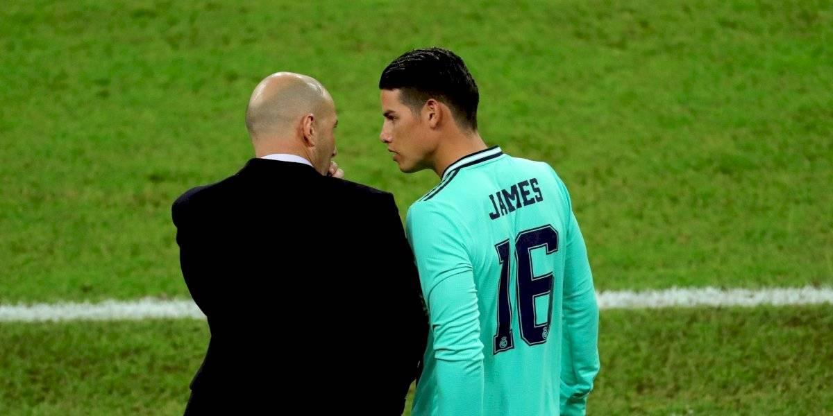 ¡James, al desnudo! Reveló su relación con Zidane y respondió a las críticas por su bajo nivel