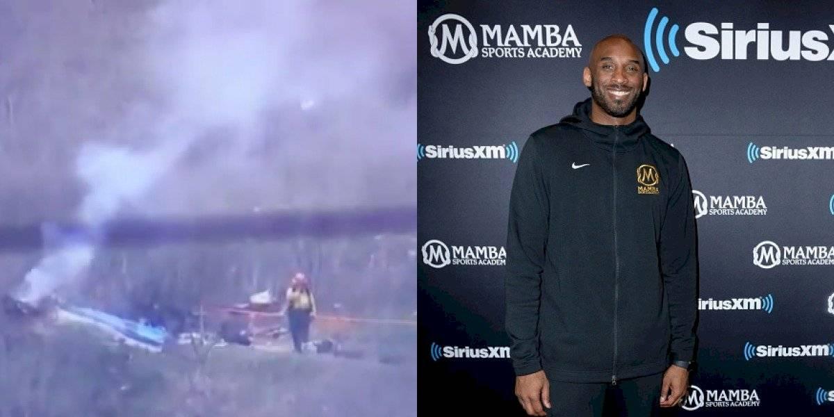 Kobe Bryant: así quedó el helicóptero donde viajaba la estrella del baloncesto
