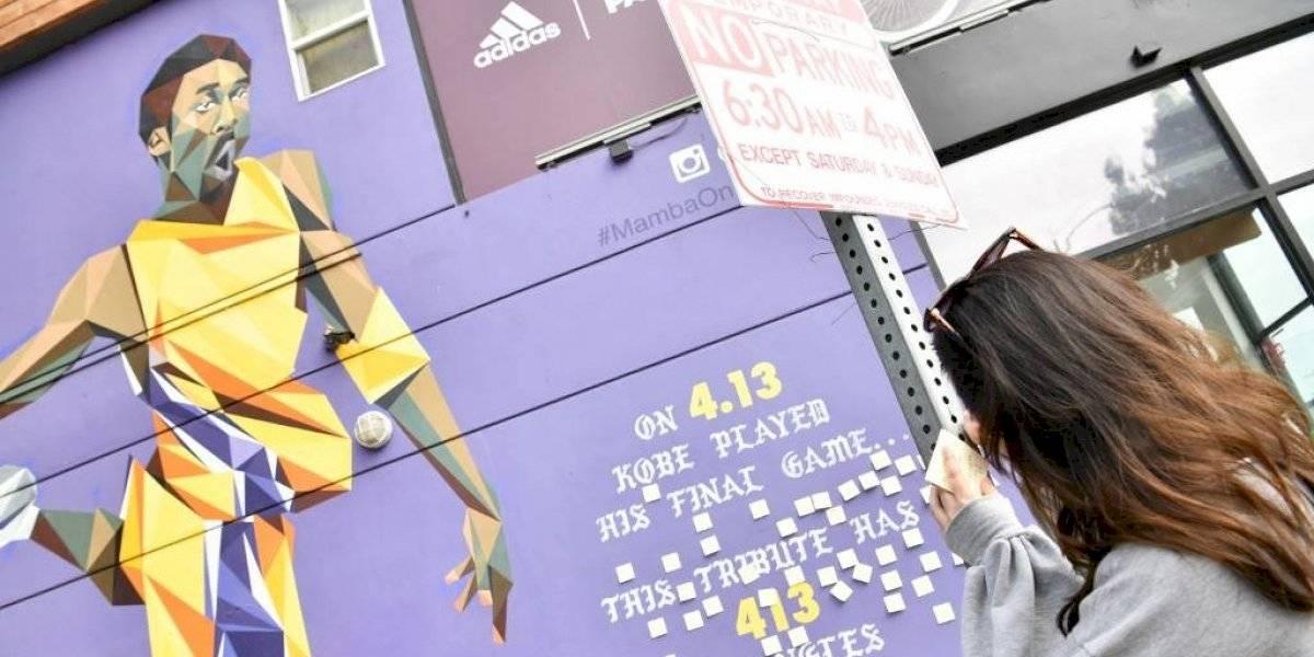 Los Ángeles llora la muerte de Kobe Bryant