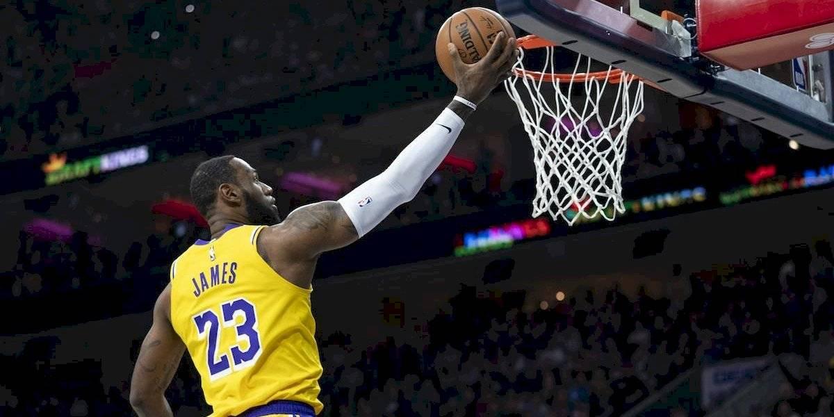 Lebron James se convierte en el tercer mejor encestador de la NBA