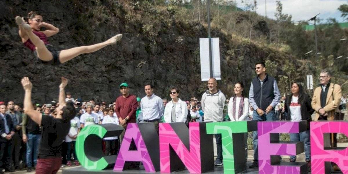 Inauguran Parque La Cantera, el 'mini Chapultepec' de Coyoacán