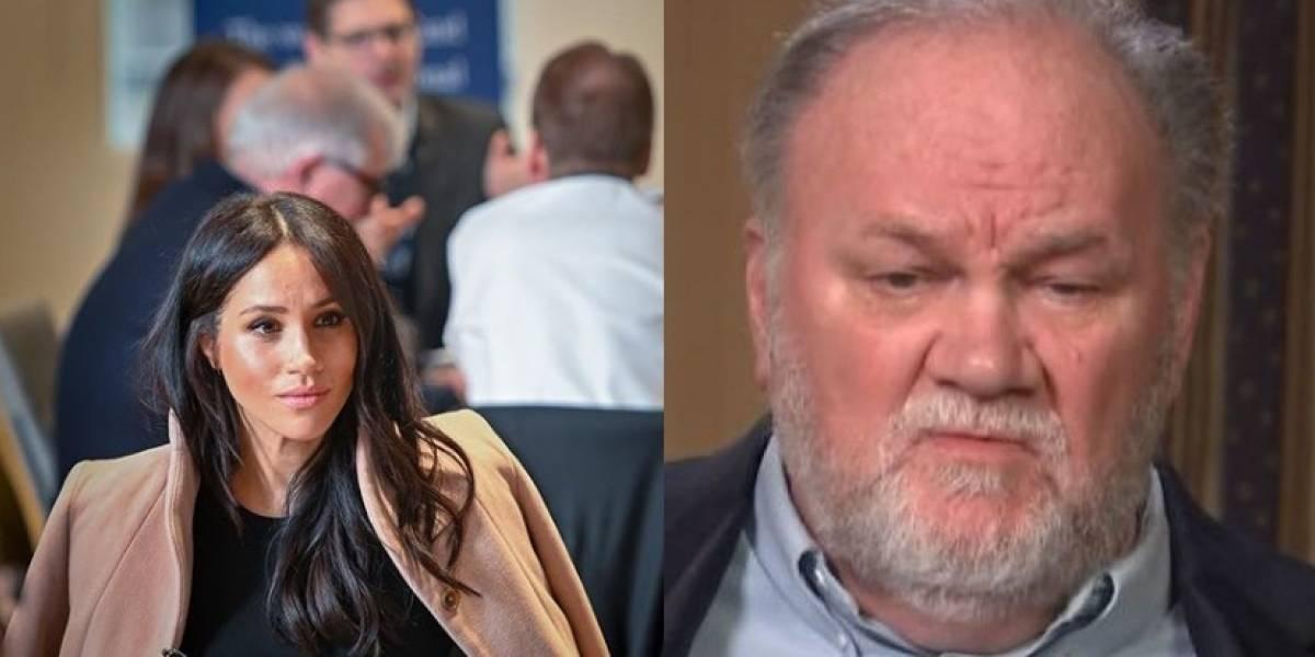 Pai de Meghan Markle diz que seria ótimo encontrá-la no tribunal
