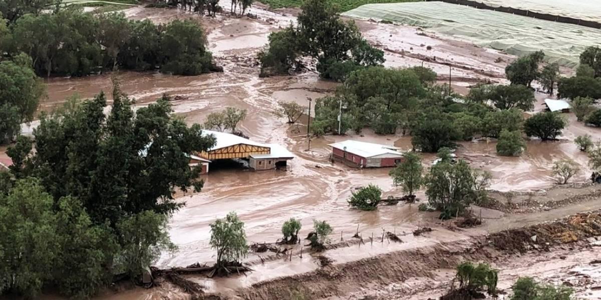 Piñera decretó estado de catástrofe para zonas afectadas por aluviones en Atacama
