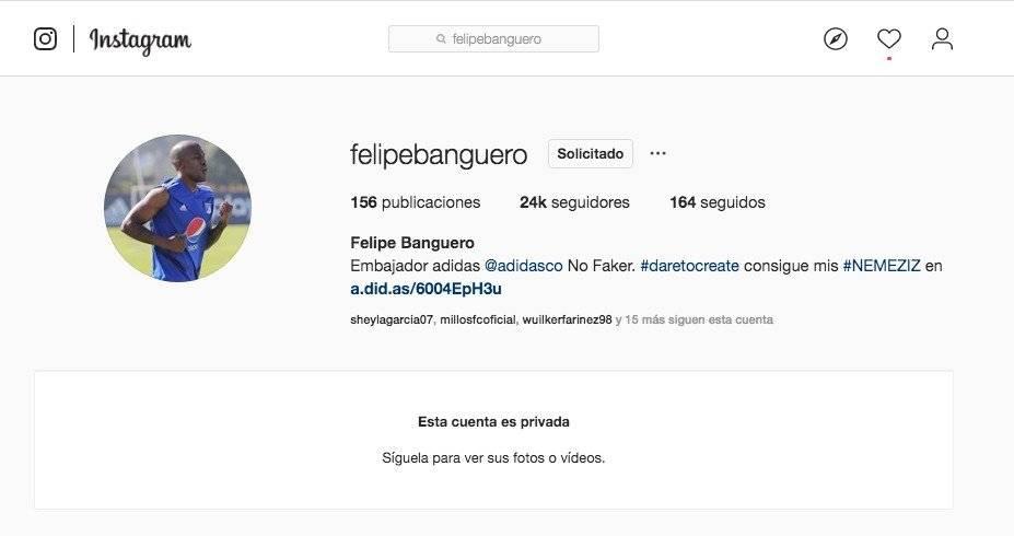 Instagram Felipe Banguero