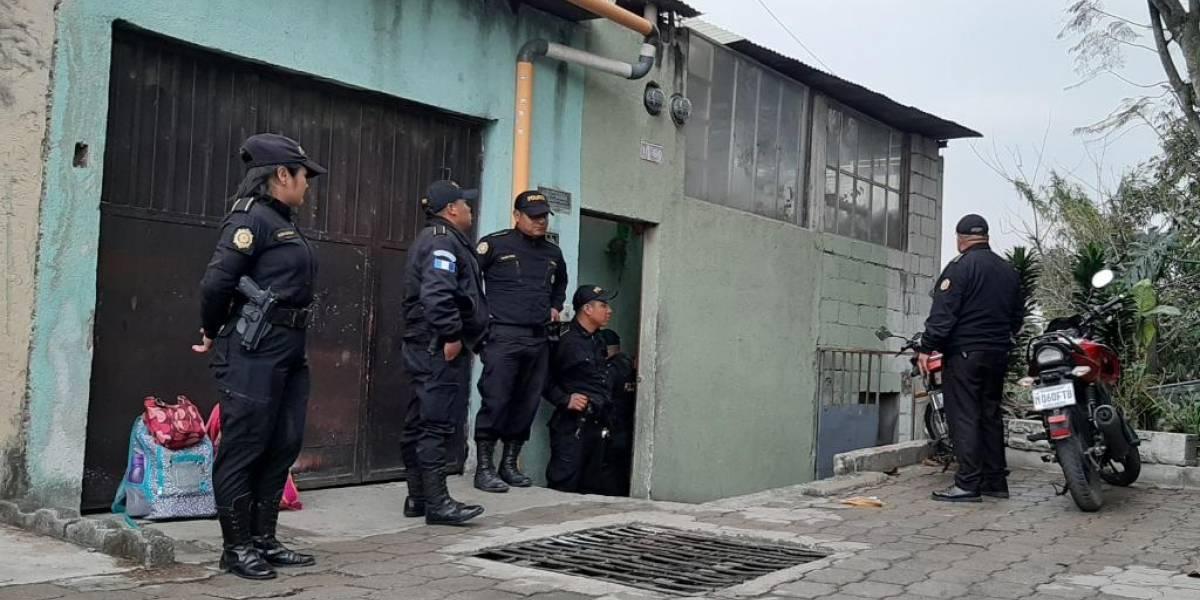 Estado de prevención: Más de 30 allanamientos en Villa Nueva