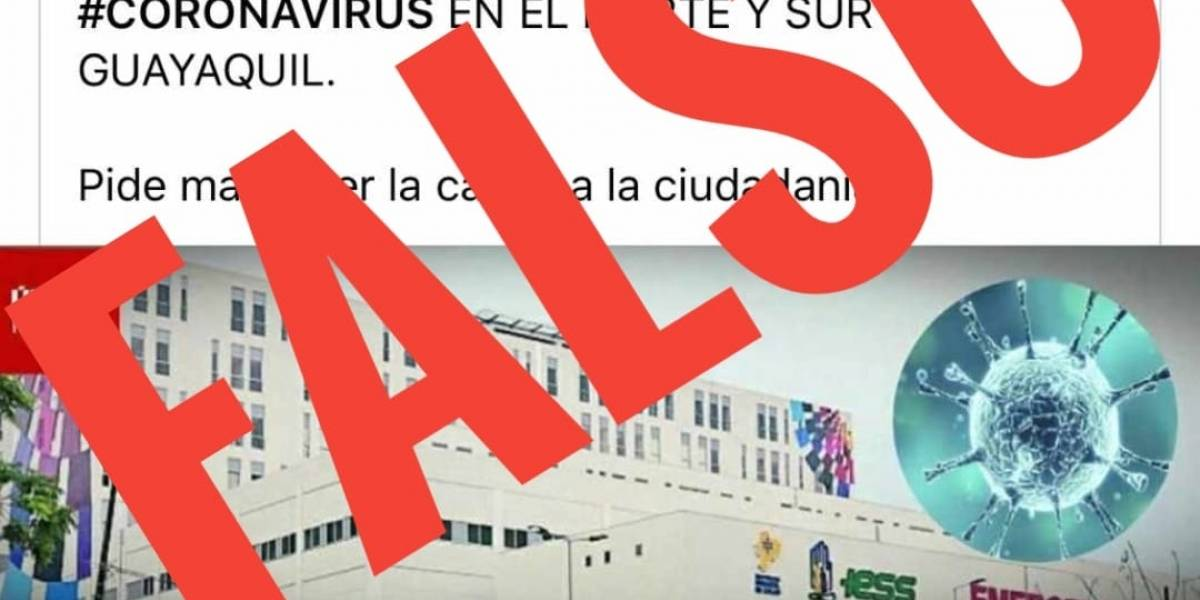 Falsa información sobre coronavirus en Ecuador ¡No hay casos confirmados en Guayaquil!