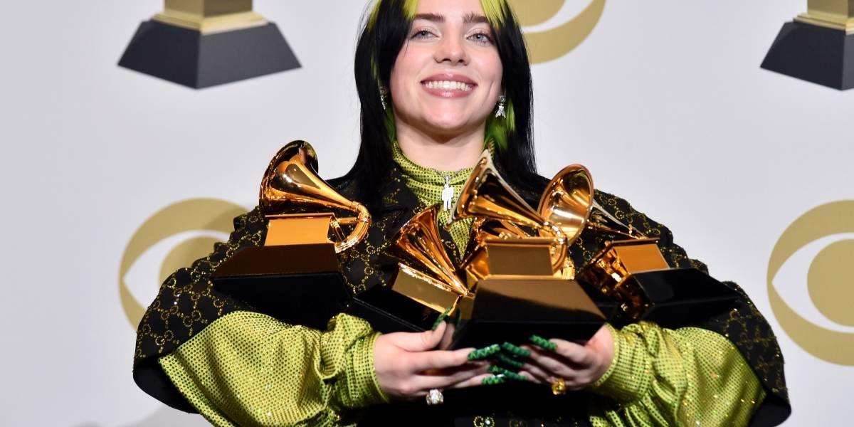 Grammy 2020: Billie Eilish leva 5 estatuetas e faz história; veja lista de vencedores