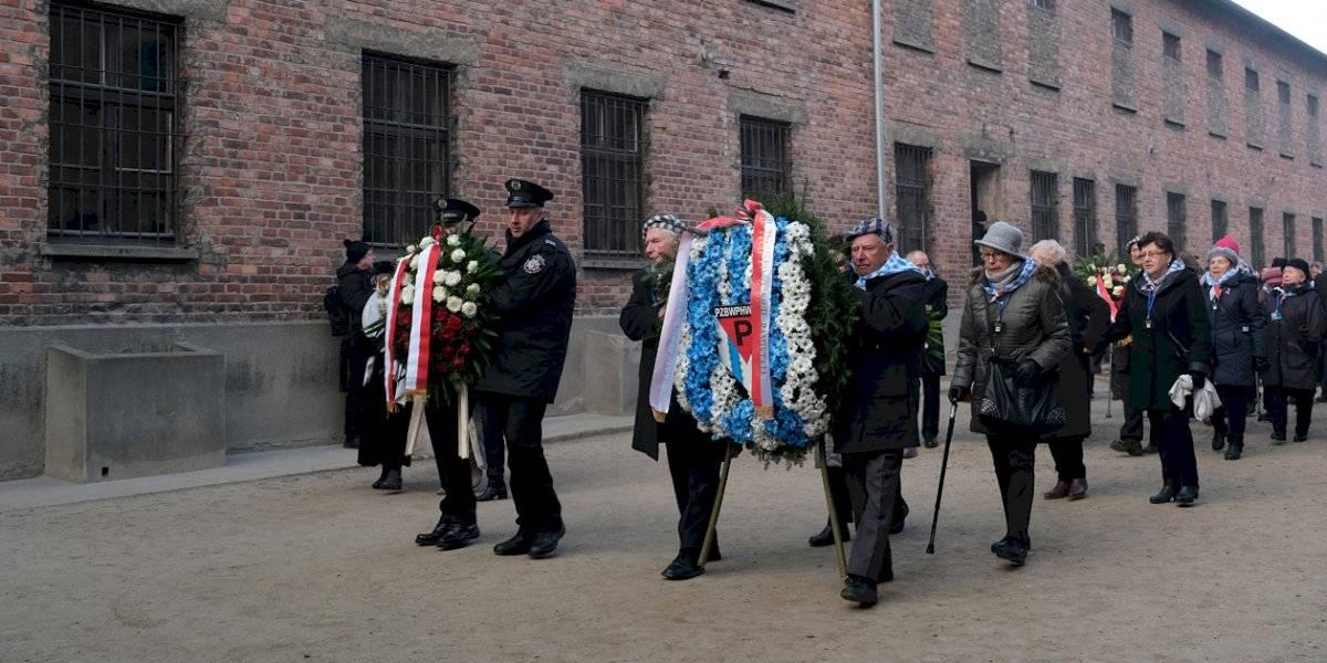 Sobreviventes visitam Auschwitz 75 anos após libertação Sean Gallup/Getty Images