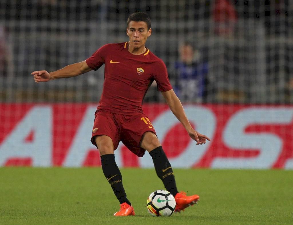 Héctor Moreno con la camiseta de la Roma Getty Images