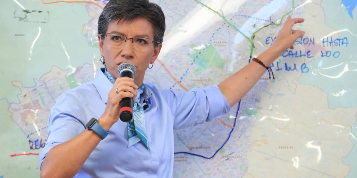 Quienes salieron de Bogotá para huir de la medida, no podrán entrar el lunes: Claudia López