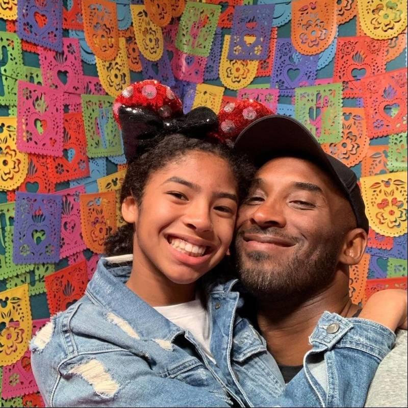 Kobe Bryant y su hija, Gianna
