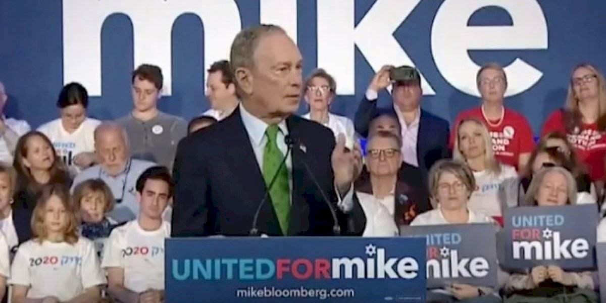 Michael Bloomberg apoya la estadidad para Puerto Rico