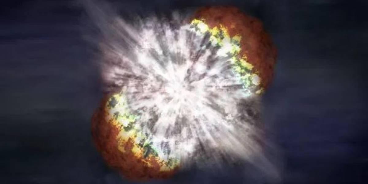 """NASA: """"Hubble captó el borde de una explosión estelar"""""""