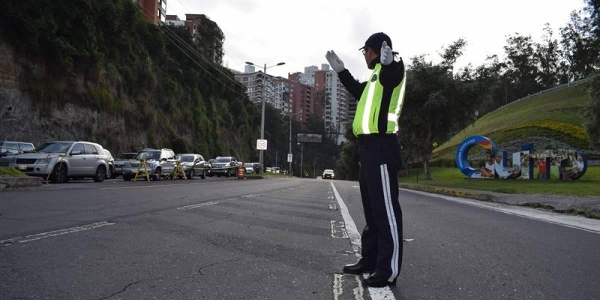 """Quito: Así funcionará el """"carril express"""" en la avenida Simón Bolívar"""