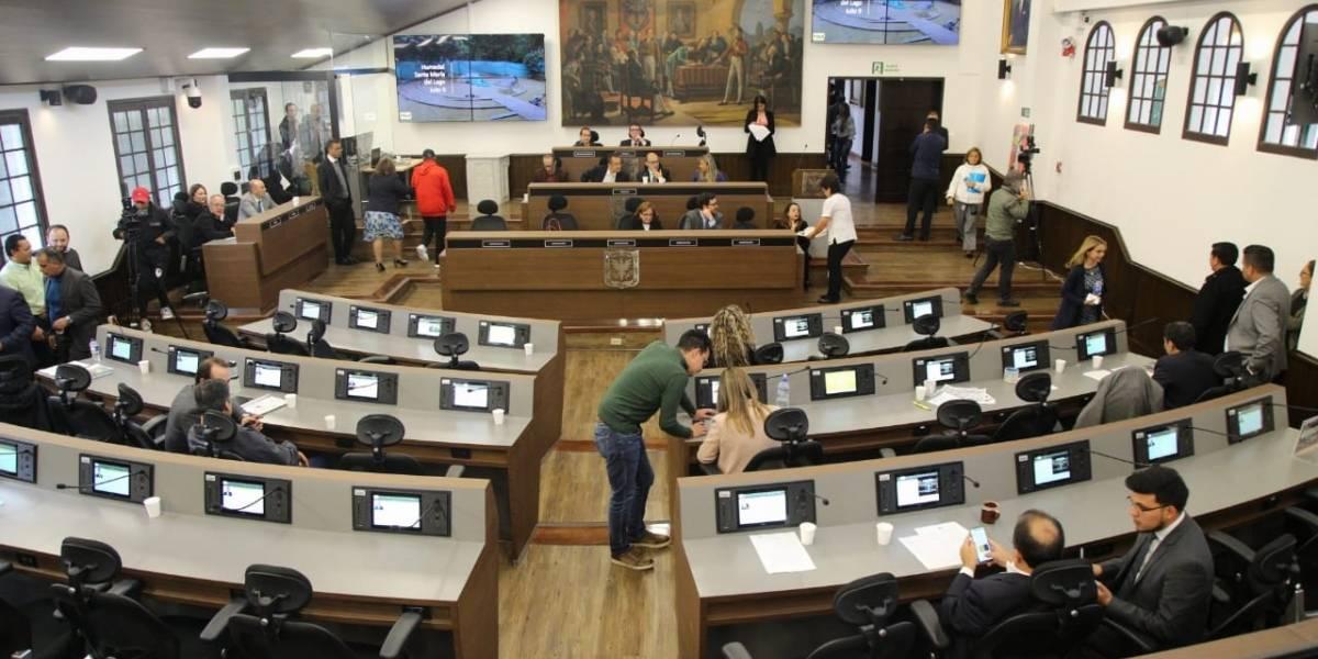 Confirman primer caso de coronavirus en el Concejo de Bogotá