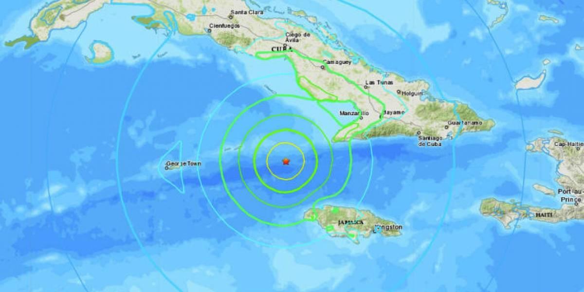 Terremoto de magnitud 7,7 sacude costas de Cuba y Jamaica