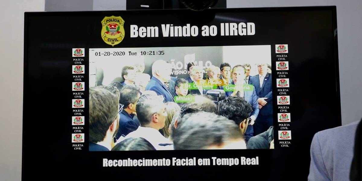 Polícia Civil de São Paulo passa a usar reconhecimento facial