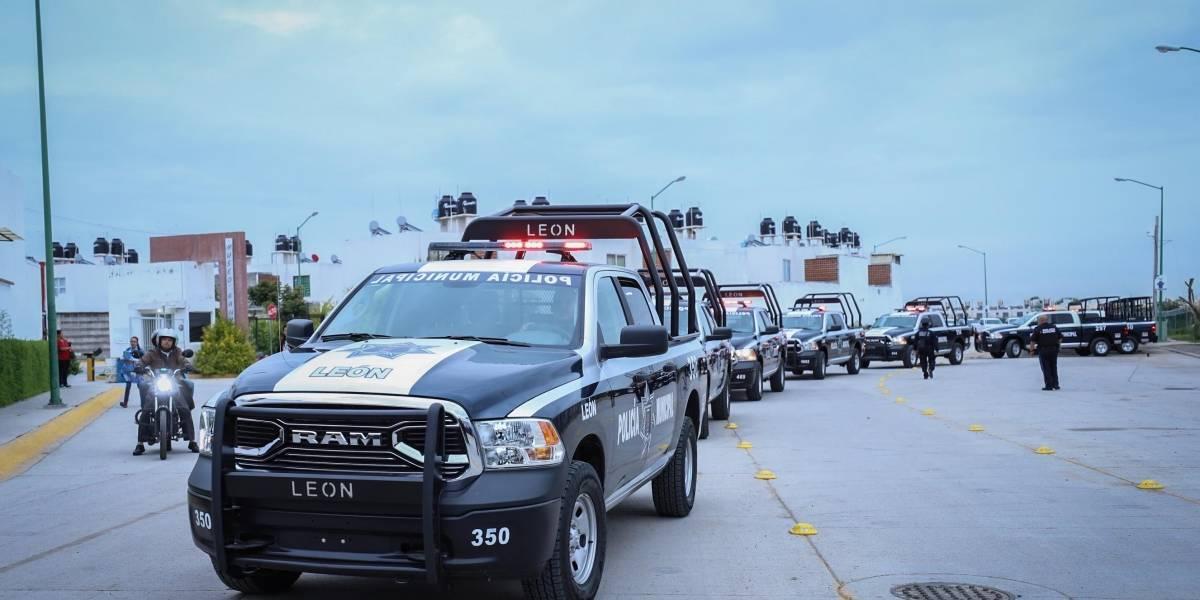 Policía de León tiene déficit de patrullas