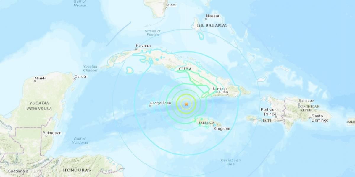Terremoto magnitud 7.7 sacude a Jamaica y Cuba