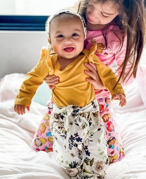 Hija de Daniela Colett y Eduardo Vargas