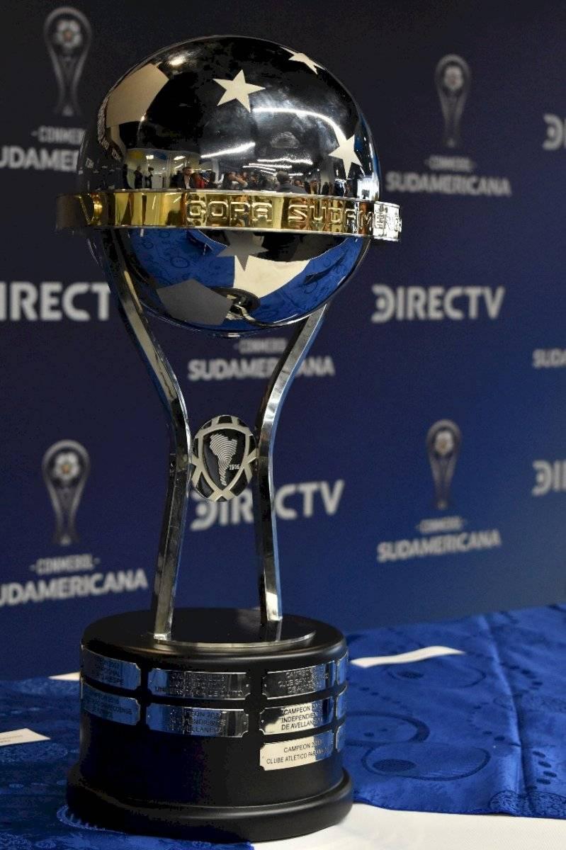 La Copa Sudamericana estuvo presente en la rueda de prensa de DIRECTV
