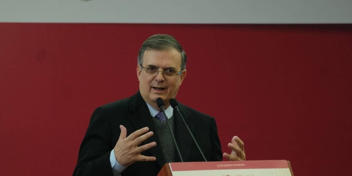 Viaja Marcelo Ebrard a Washington para firma del T-MEC