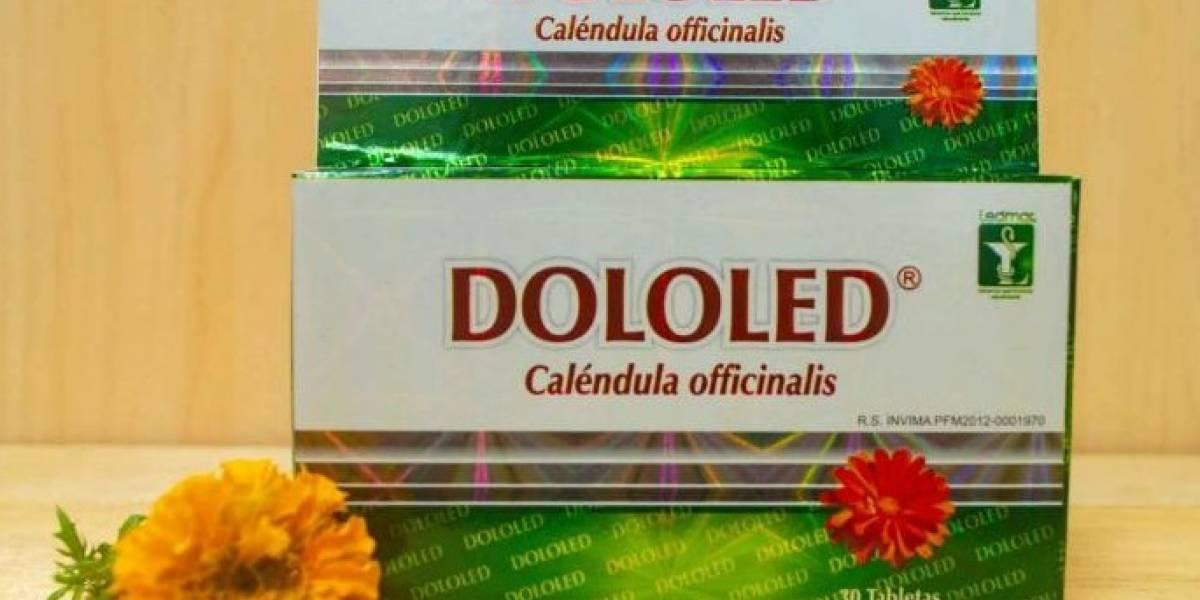 Invima encontró diclofenaco en el laboratorio de Dololed