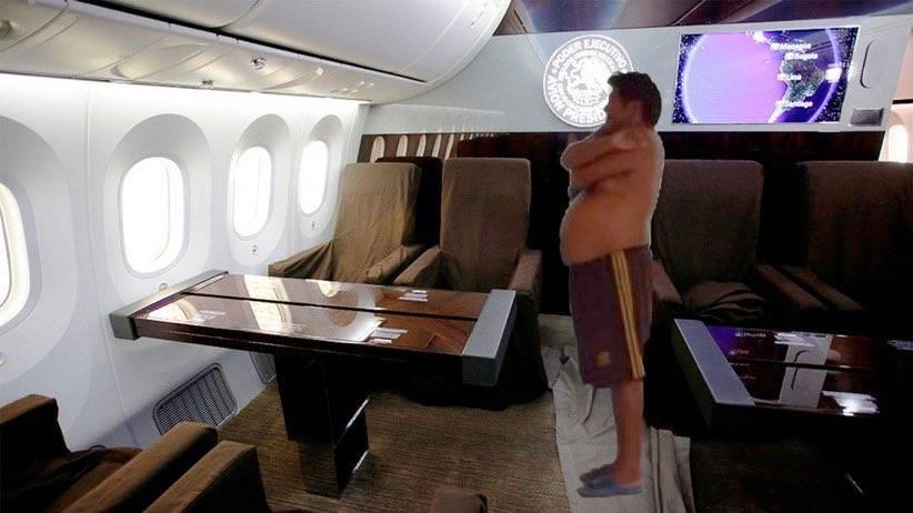 Avión Presidencial México