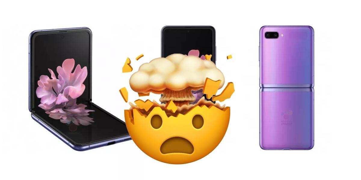 Samsung Galaxy Z Flip 5G se filtra es un genial video promocional